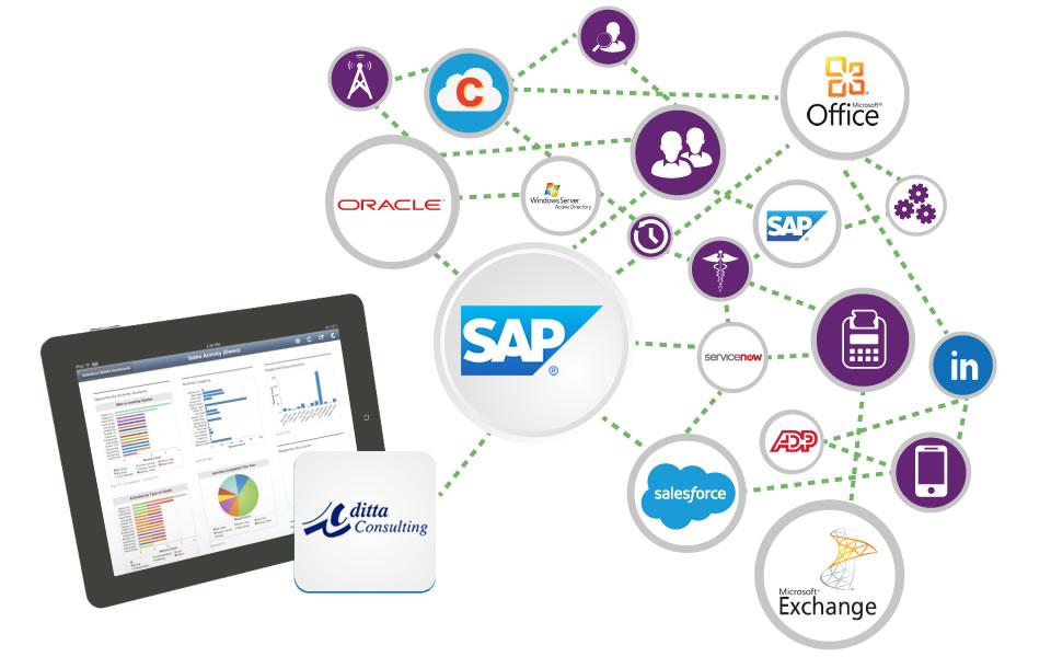 integracion de aplicaciones con sap