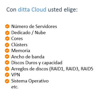 nube a la carte dita cloud1