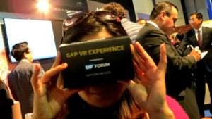 SAP Forum 2017 Virtual Reality