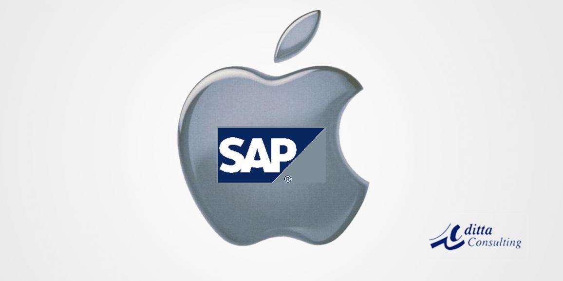 Porqué Apple eligió a SAP en vez de Oracle