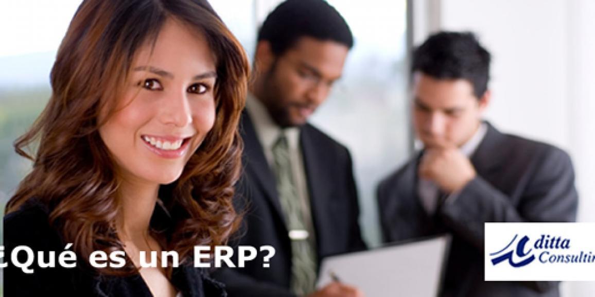Qué es un ERP